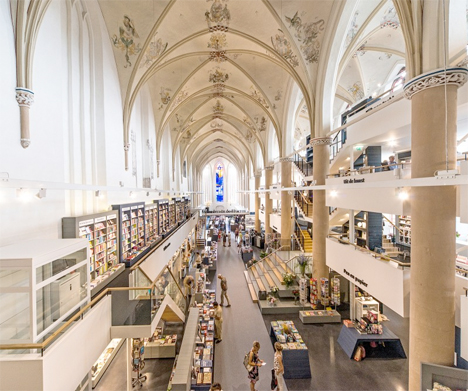 Word Worship Church Converted To Awe Inspiring Bookstore