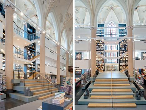 Word Worship: Church Converted to Awe-Inspiring Bookstore | Urbanist