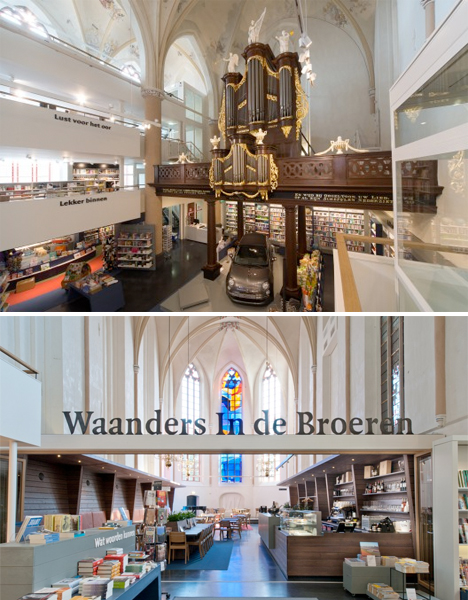 Converted Church Bookstore 5