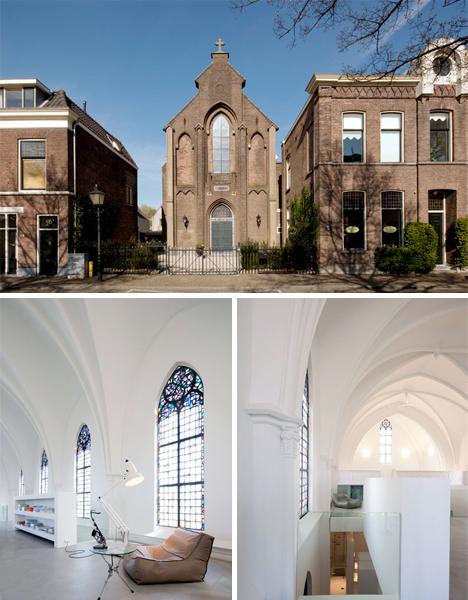 Converted Church Home Zecc Utrecht 1