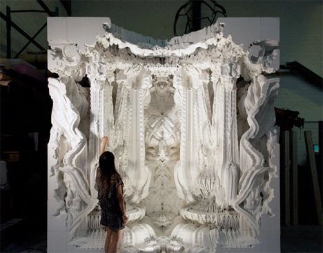 Digital Grotesque 3D Printed Room 1