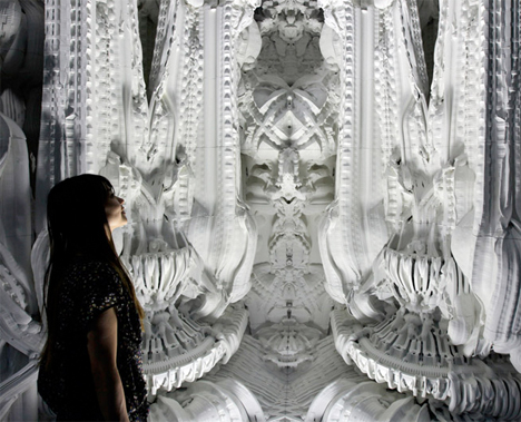 Digital Grotesque 3D Printed Room 2