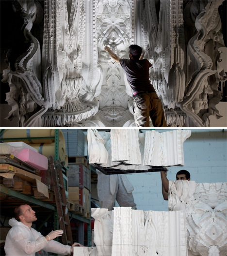 Digital Grotesque 3D Printed Room 3