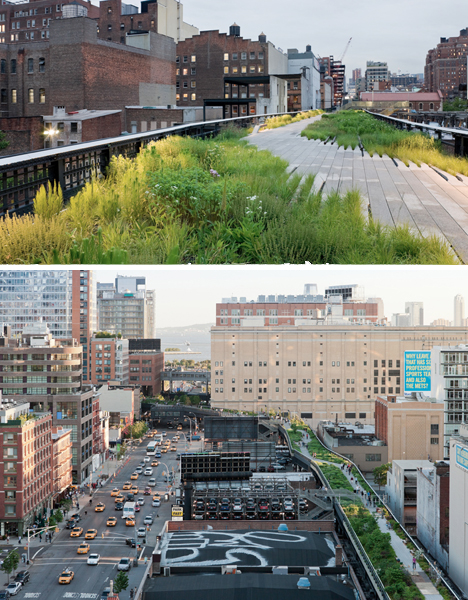 Elevated Parks High Line NYC