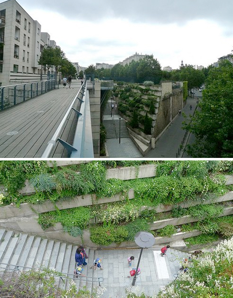 Elevated Parks Paris