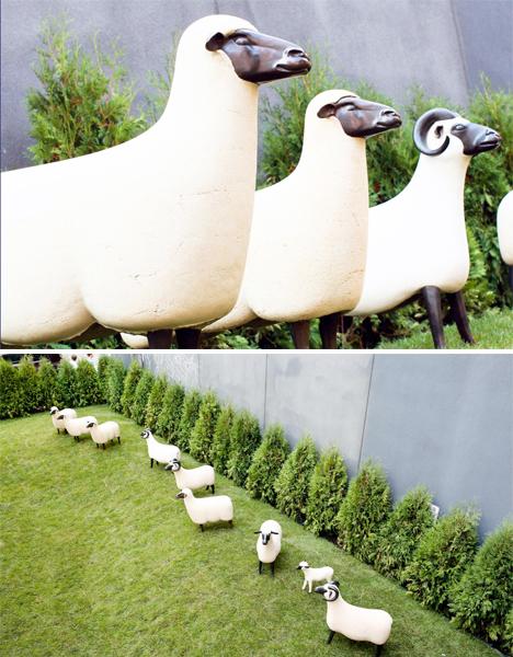 Gas Station Sheep Urban Art 4