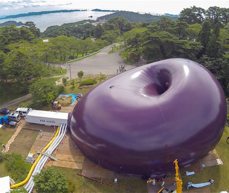 INflatable concert hall Japan 1