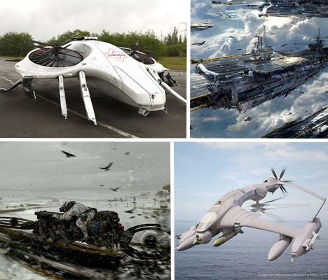 Imaginary Vehicles Ships Main