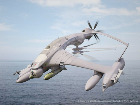 Will That Fly? 17 Imaginary Vehicle & Aircraft Concepts