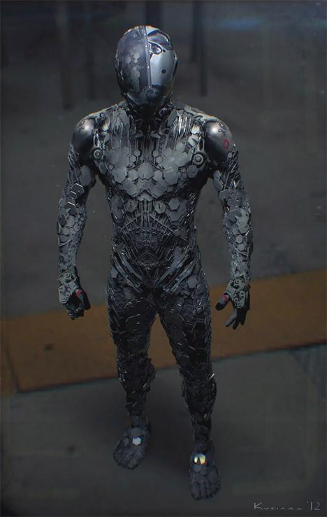 Imaginary Wearable Tech Modo Suit