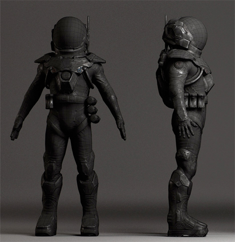 Wearable Tech of the (Distant) Future: 13 Sci-Fi Suits ...