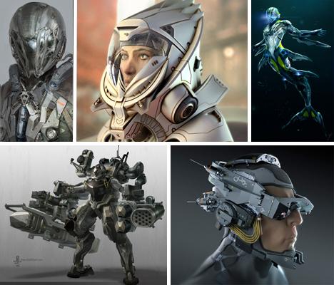 Imaginary Wearable Tech Sci Fi Suits Main
