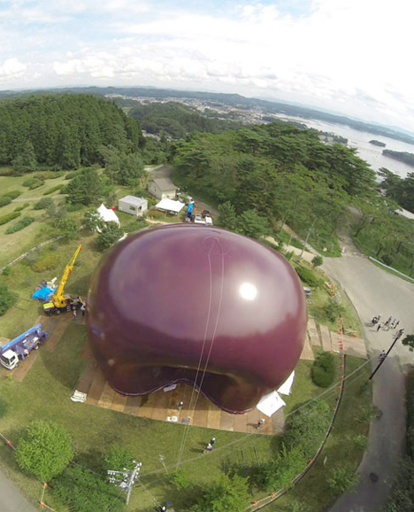 Inflatable Concert Hall Japan 2