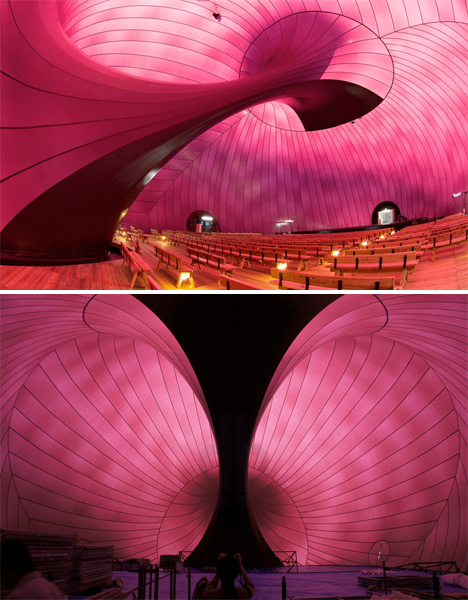 Inflatable Concert Hall Japan 4