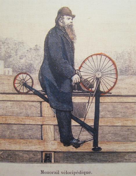 Monorail pedal