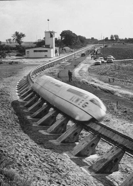 Seattle Monorail Drawing Alweg Monorail 1959