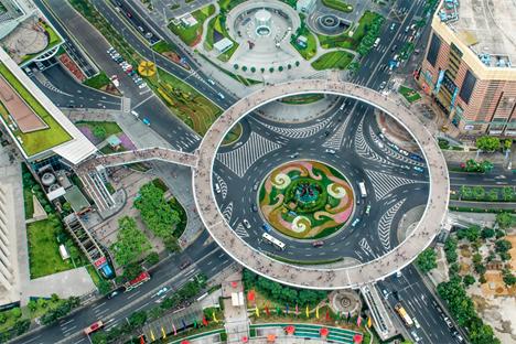 Skybridge Circular PEdestrian