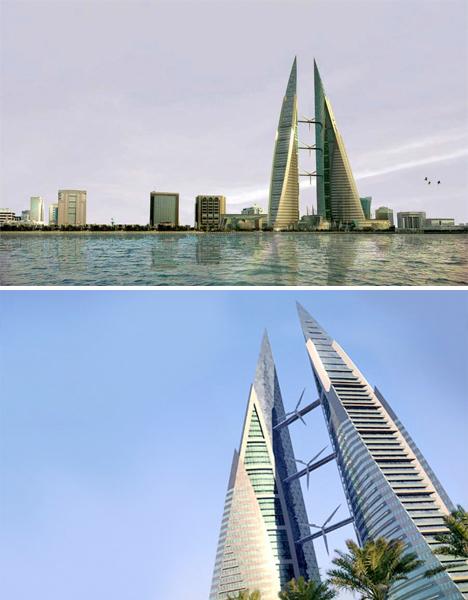 Skybridges Bahrain WTC