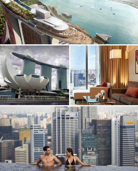 Eric tomasoa for Marina bay sands architecture concept
