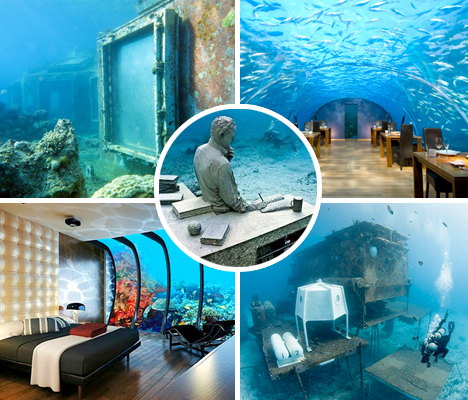 Underwater Buildings Submerged Hotels Main