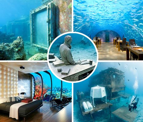 Underwater Buildings Submerged Hotels Main