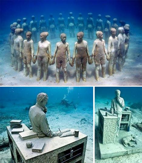 Underwater Museum Mexico