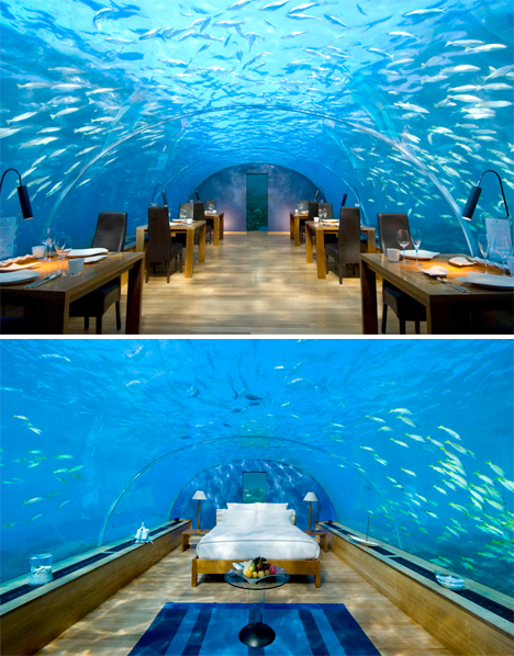 Underwater Restaurant Resort Ithaa