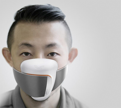 Wearable Tech Air Waves Pollution Mask 1