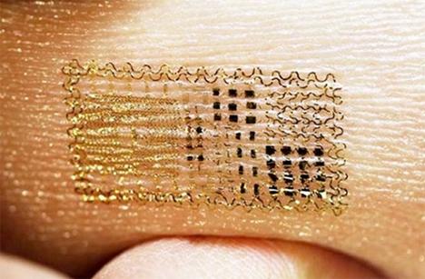 Wearable Tech Stick On Tattoo