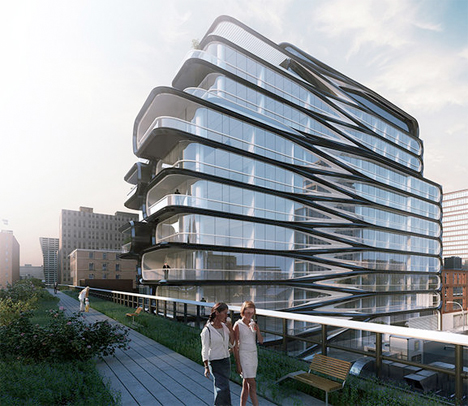 Zaha Hadid High Line Apartments NYC 1