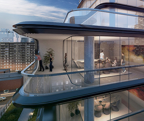 Zaha Hadid NYC High LIne Apartments 3