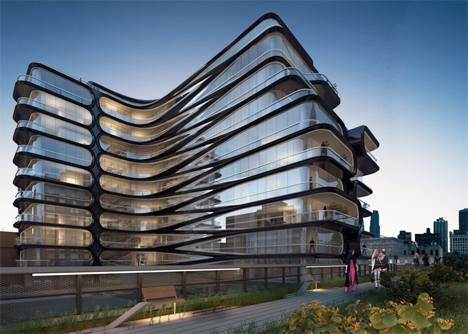 Zaha Hadid NYC High Line Apartments 2