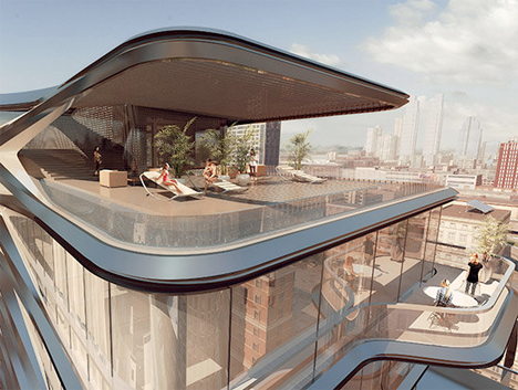 Zaha Hadid NYC High Line Apartments 4