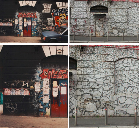 before after graffiti photos