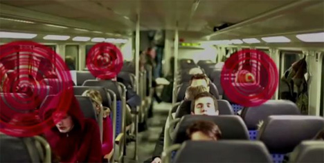 bone conduction train ads