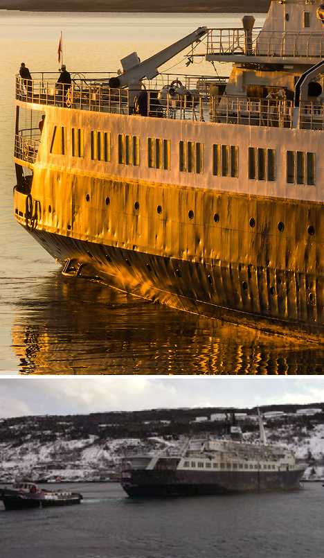 abandoned cruise ship MV Lyubov Orlova