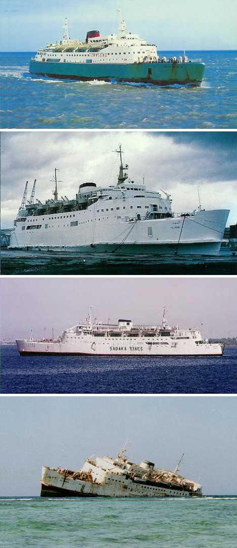 abandoned ferry Free Enterprise III Al Fahad