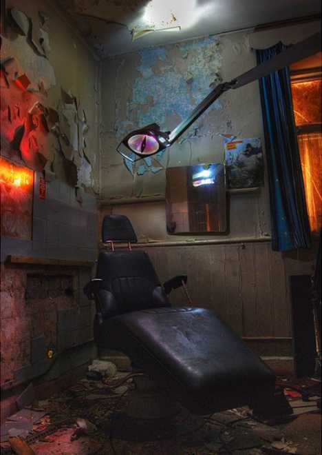 Adel Reformatory abandoned dentist chair