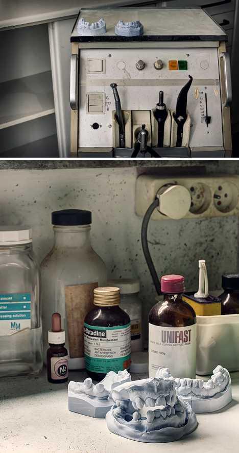 dentist Maison de Cerf Belgium abandoned