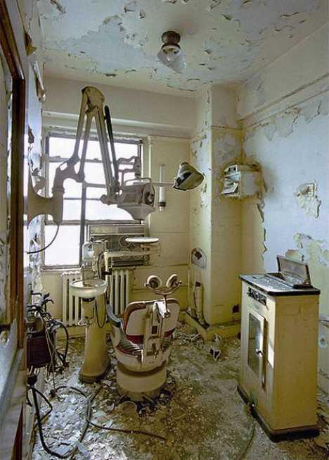 Is It Safe Nine Creepy Abandoned Dentist Offices Urbanist
