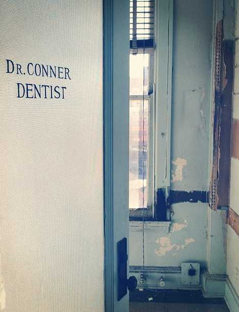 Dr. Connor abandoned dentist office