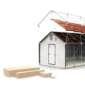 sc 1 st  WebUrbanist & Details u0026 Diagrams: $1000 IKEA Flat-Pack Refugee Shelter | Urbanist