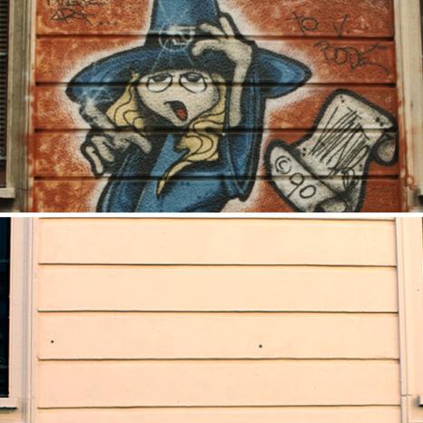 graffiti over time