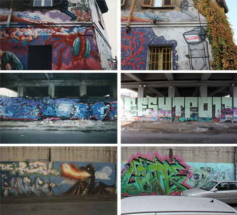 graffiti past and present