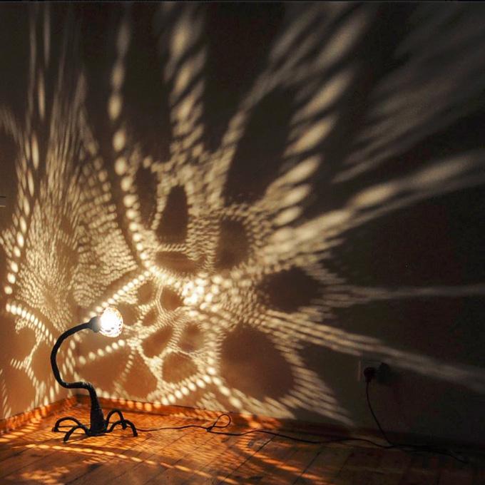 lamp ball of light