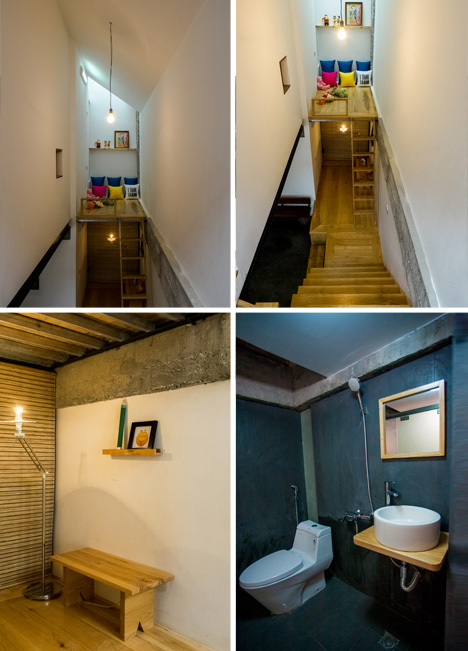 niche home room details