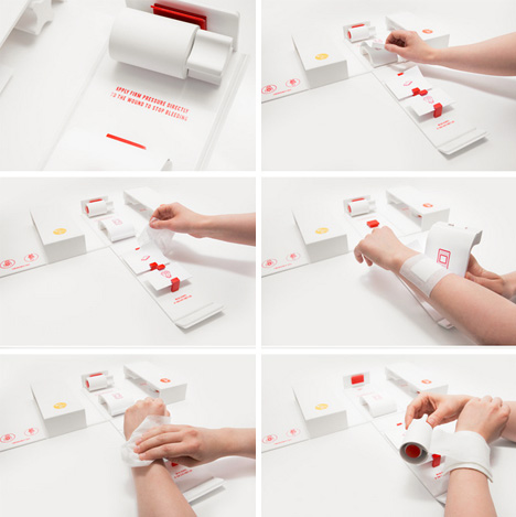 one emergency injury instructions