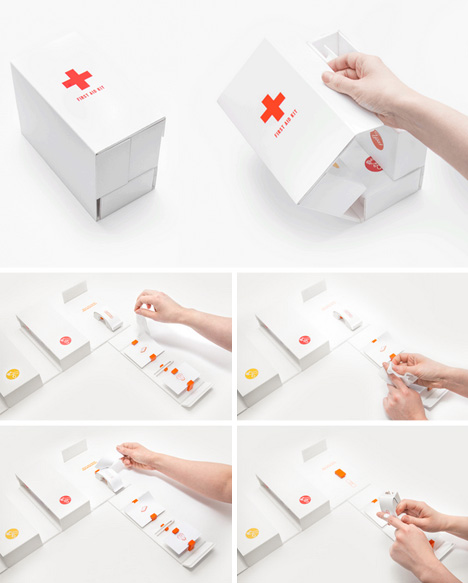one handed first aid