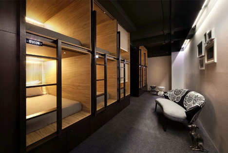 Pod In Singapore High Class Hostel Meets Capsule Hotel on small office interior design