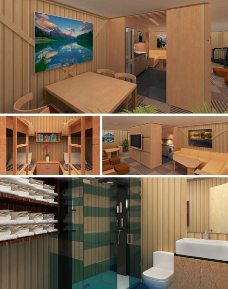 survival shared living spaces